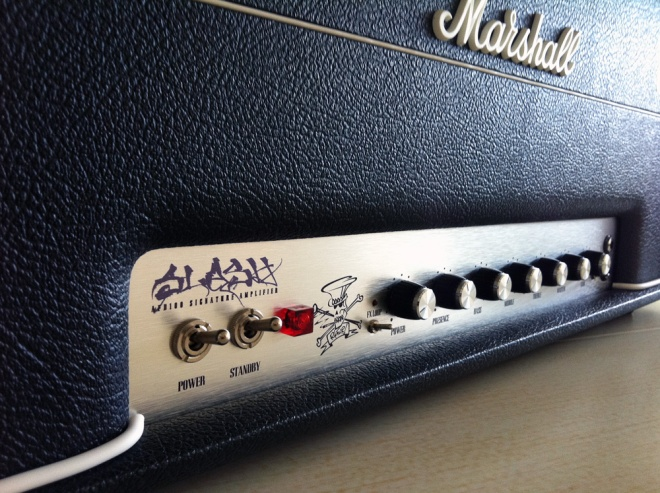 Marshall AFD100 amplifier
