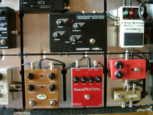 Pedalboard 2006 Detail centre