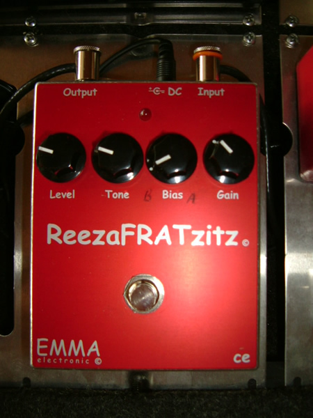 EMMA ReezaFratZitz distortion pedal