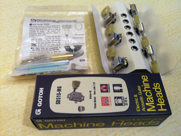 Gotoh Machinehead kit
