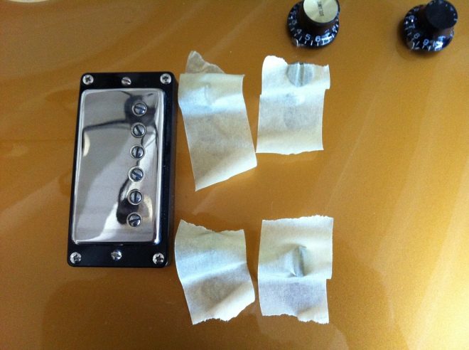 Gibson Les Paul Classic bridge and tailpiece posts