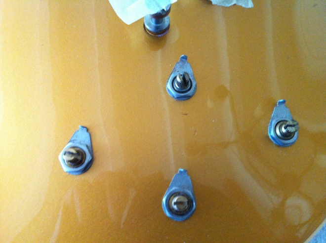 Gibson Les Paul Cassic knob pointer alignment