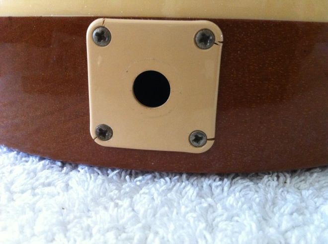 Gibson Les Paul Classic jack plate