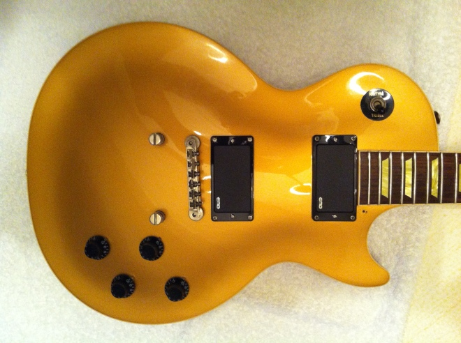 Gibson Les Paul Classic with EMG active pickups