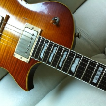 ESP Eclipse II Aged Honey Burst