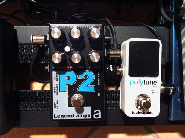 Polytune Mini and AMT P2