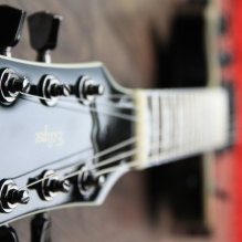 ESP Eclipse 2 Headstock