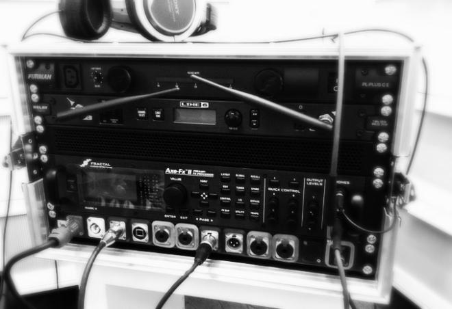 Axe-FX II 6U Rack
