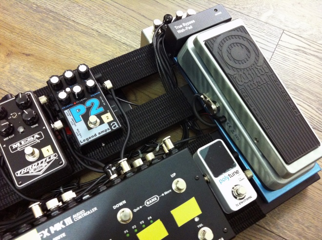 G-Lab True Bypass Wah Pad and Zakk Wylde Wah